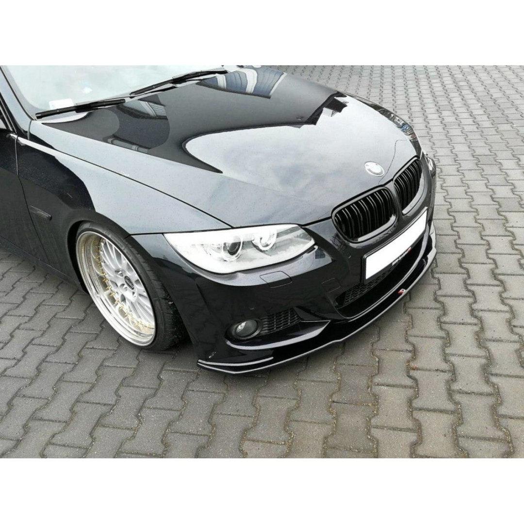Cup Spoilerlippe V.1 BMW 3er F30 schwarz Hochglanz