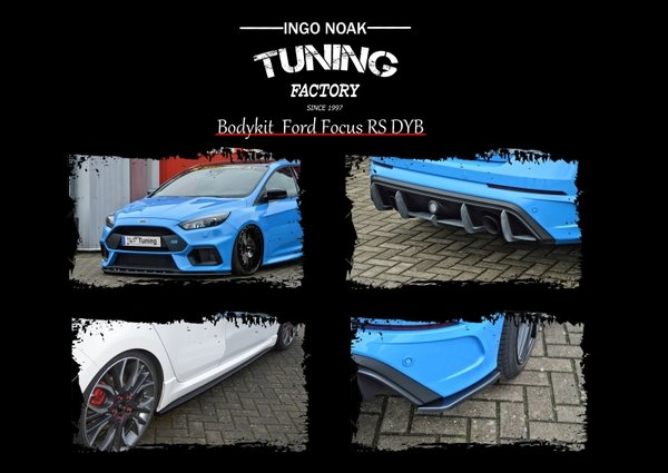 Bodykit für Ford Focus RS DYB-RS ab Bj. 2016 - aus ABS