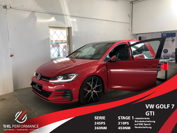 Softwareoptimierung Golf 7 GTI +Performance + TCR +Clubsport