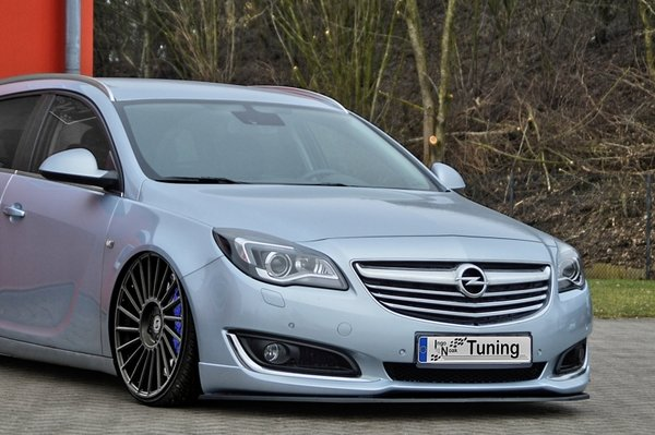 CUP Frontspoilerlippe für Opel Insigia Facelift ab Bj. 2013-